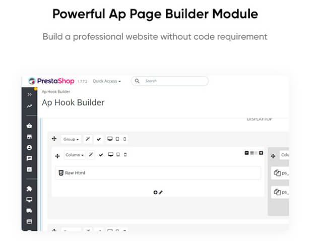 Powerful Ap Page Builder Module Build a professional website without code requirement