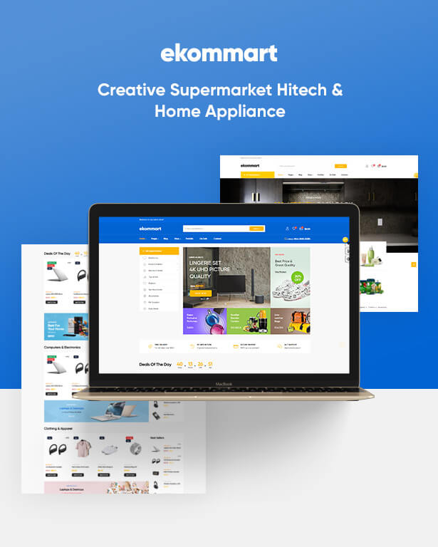 Leo Ekommart - Creative Supermarket Hitech & Home Appliance