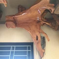 Bán bộ bàn ghế gỗ Huỳnh Đàn Chua (Gỗ Trai) liền khối