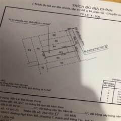 Bán nhà cũ C4 tính đất hẻm ôt 105 Ngô Đức Kế TPVT