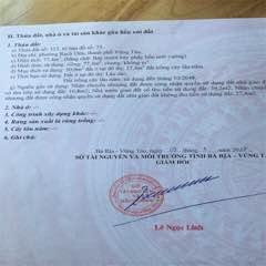 Bán đất Bến Nôm P.Rạch Dừa TPVT