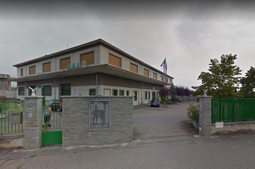 La sede della Sezione ANA di Biella, in via Ferruccio Nazionale