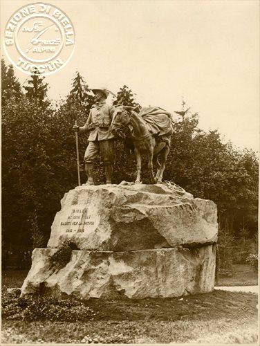 Il monumento alla Vittoria, opera dello scultore Pietro Canonica