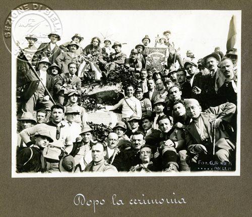 """""""Dopo la cerimonia"""" sul Monte Tovo"""