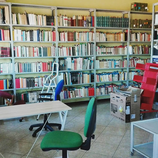 La precedente sede della Biblioteca