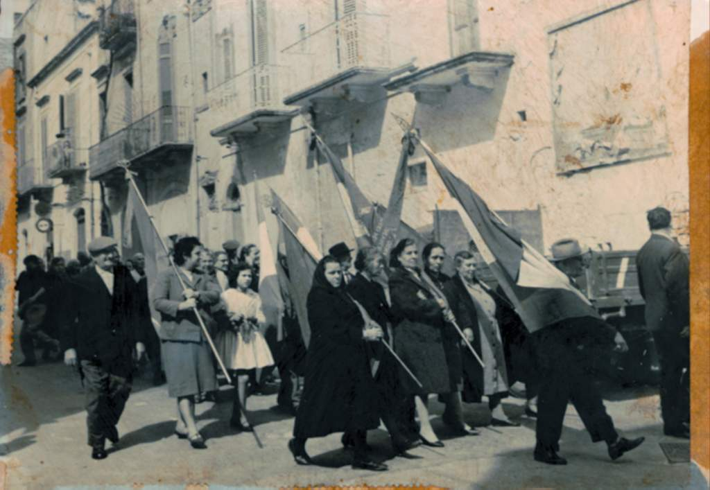 Braccianti di Conversano in lotta, 1962.