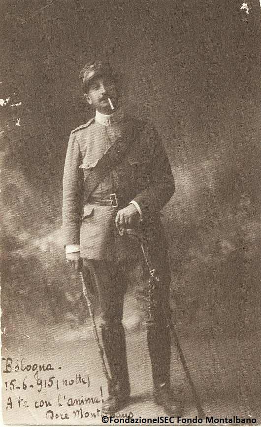 Salvatore Montalbano, Bologna, 1915