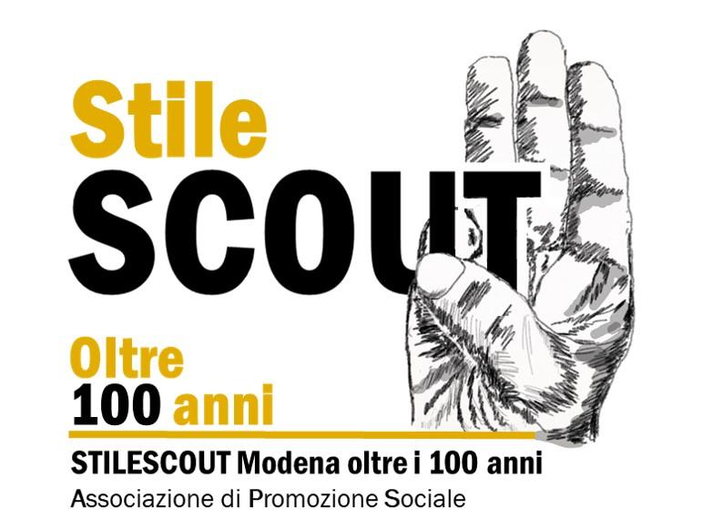 Logo Stilescout Modena oltre i 100 anni