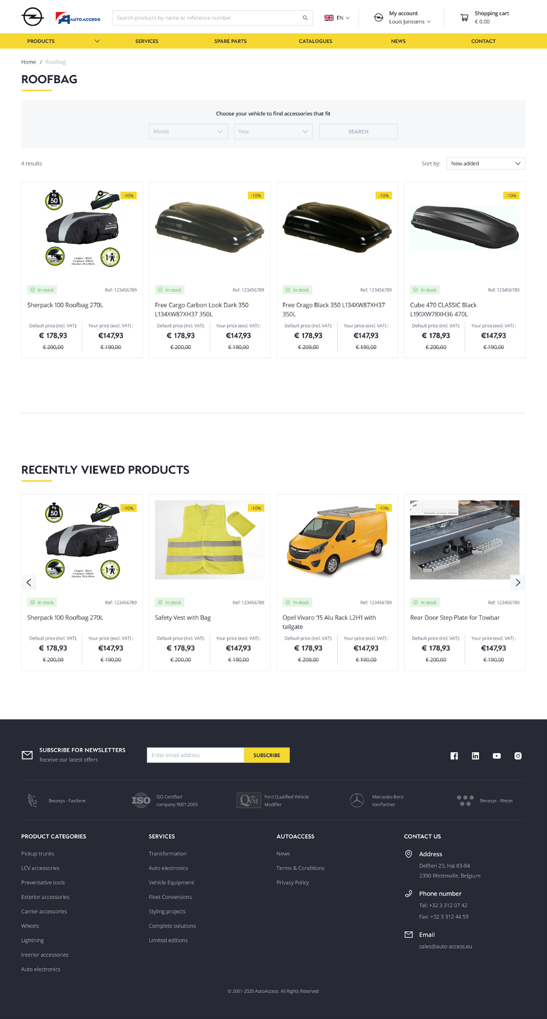 AutoAccess new design