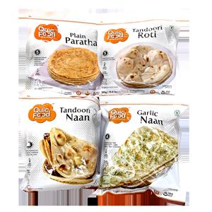 Paratha, Roti, Naan & More