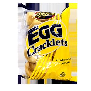 Lauras Egg Cracklets