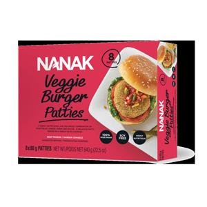 Nanak Veggie Burger Patties