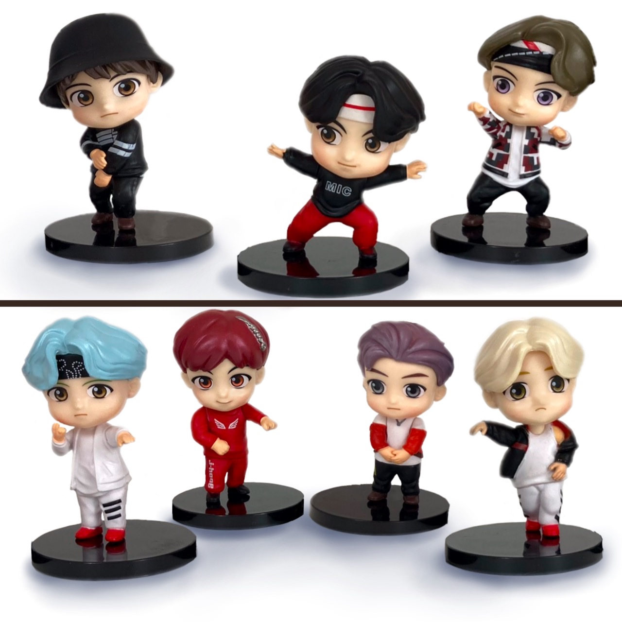 BTS Figures Each Sold Separately
