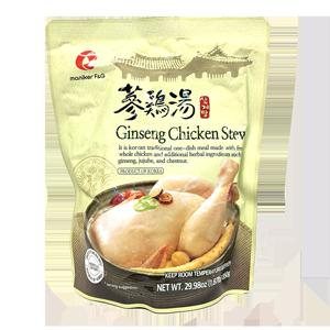 Ginseng Chicken Stew