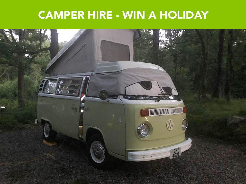 Staycation VW Camper Hire - 22nd Feb