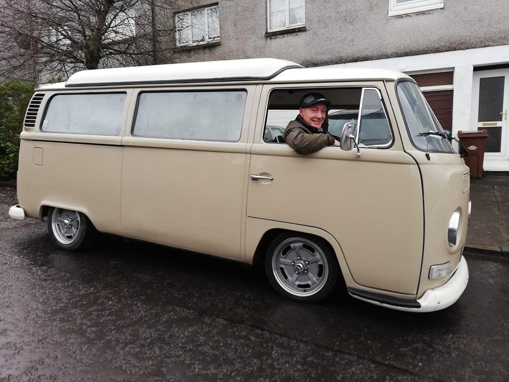 VW Bay window Camper