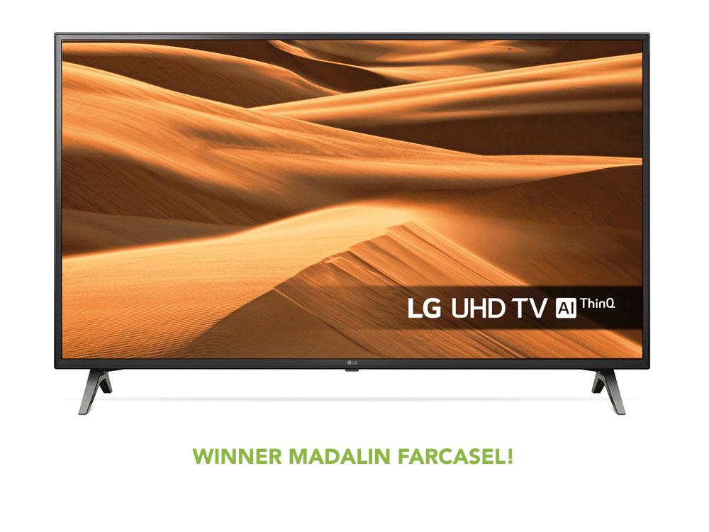 LG 65 Inch 4k TV