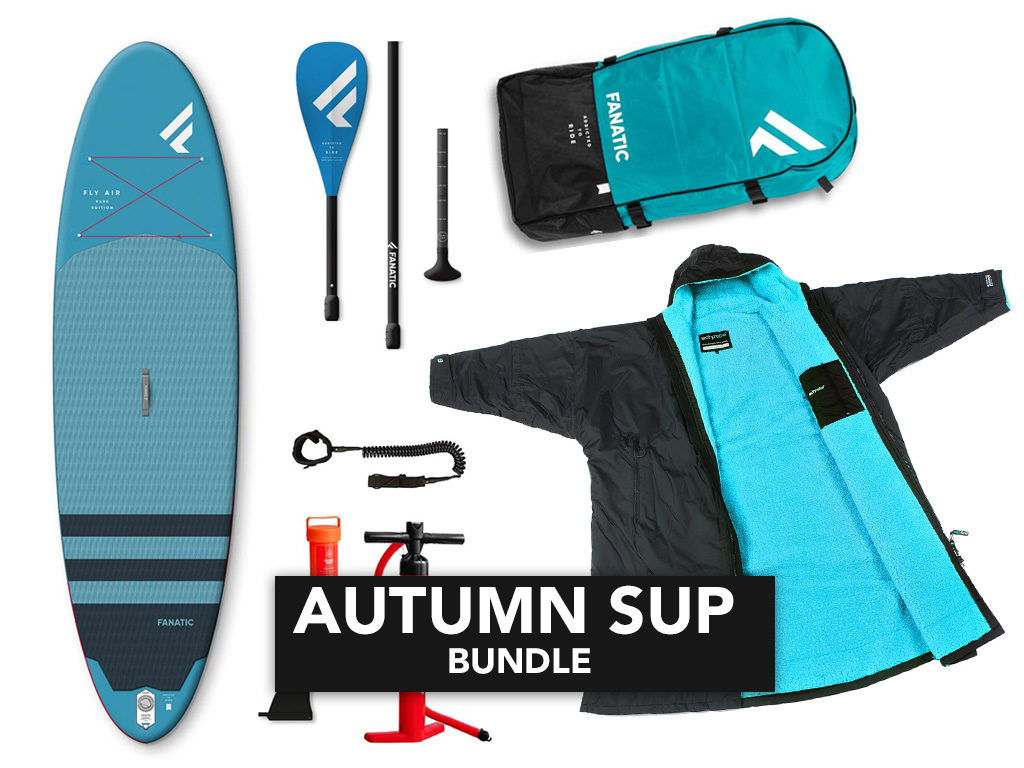 Fanatic SUP and Dryrobe