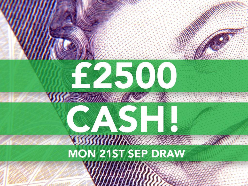 £2500 Cash