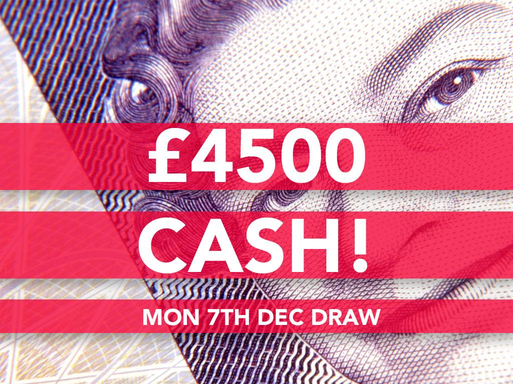 £4500 Cash