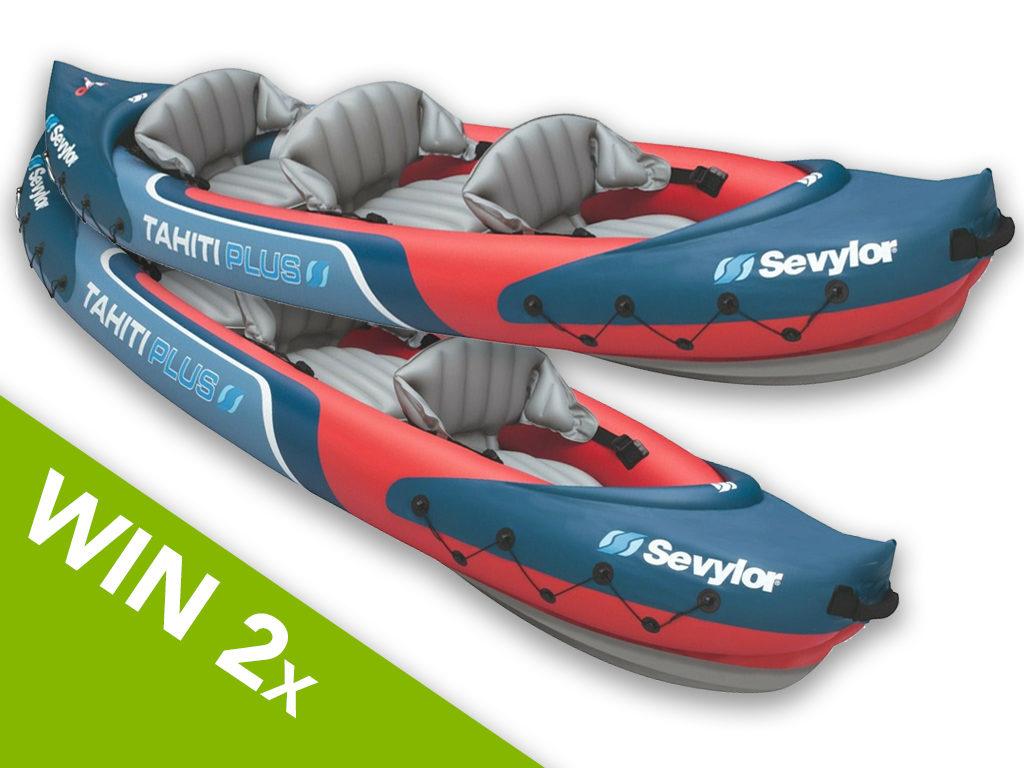 2 x Inflatable Kayaks