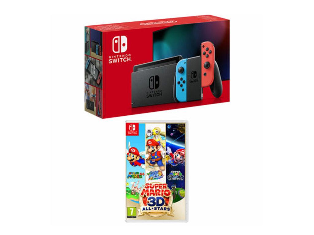 Nintendo Switch with Mario
