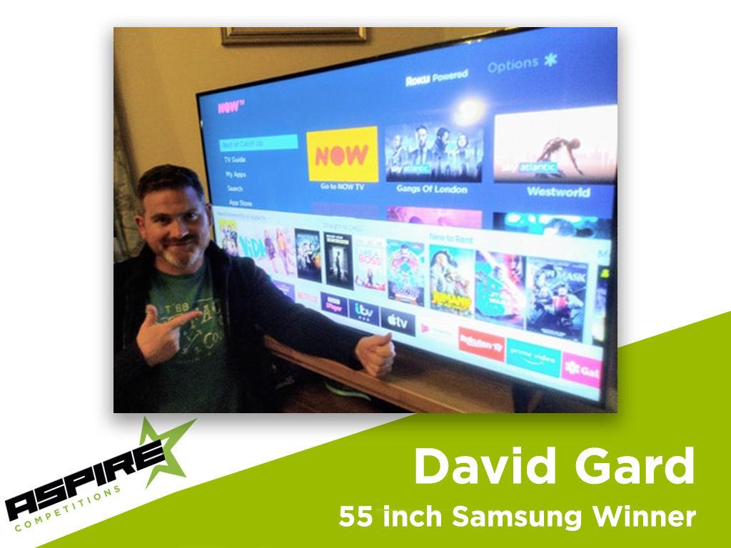 Samsung 55 Inch 4K TV