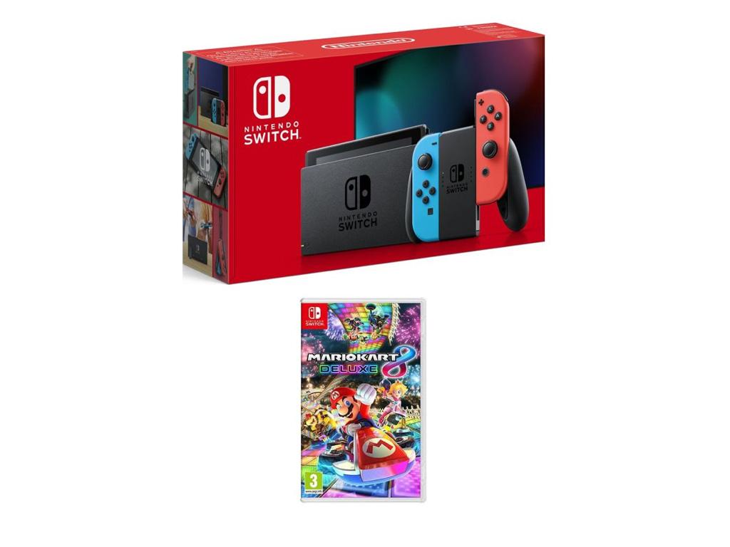 Nintendo Switch with MarioKart