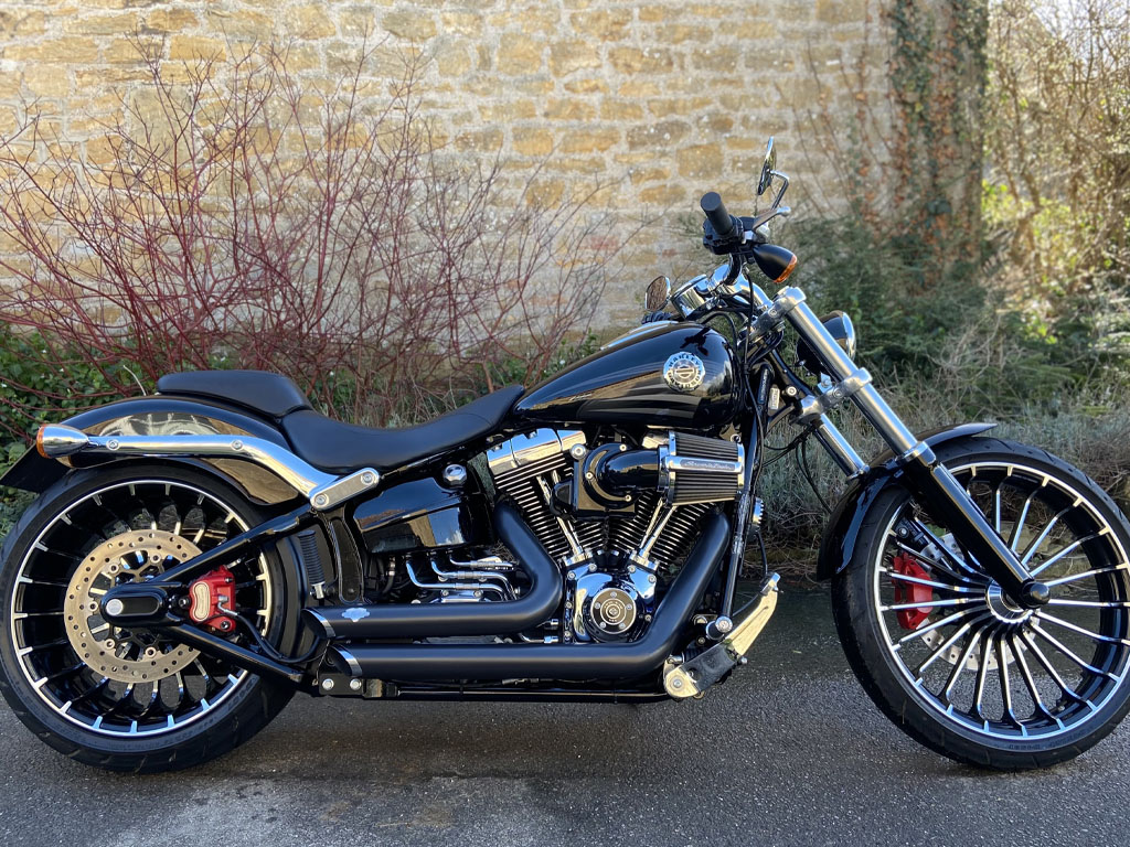 2016 Harley Davidson – Breakout 103 – 1st March