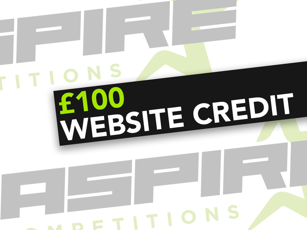 £100 Website Credit - 1st March