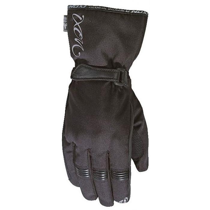 Ixon Women's Pro Rush Black/Silver Gloves