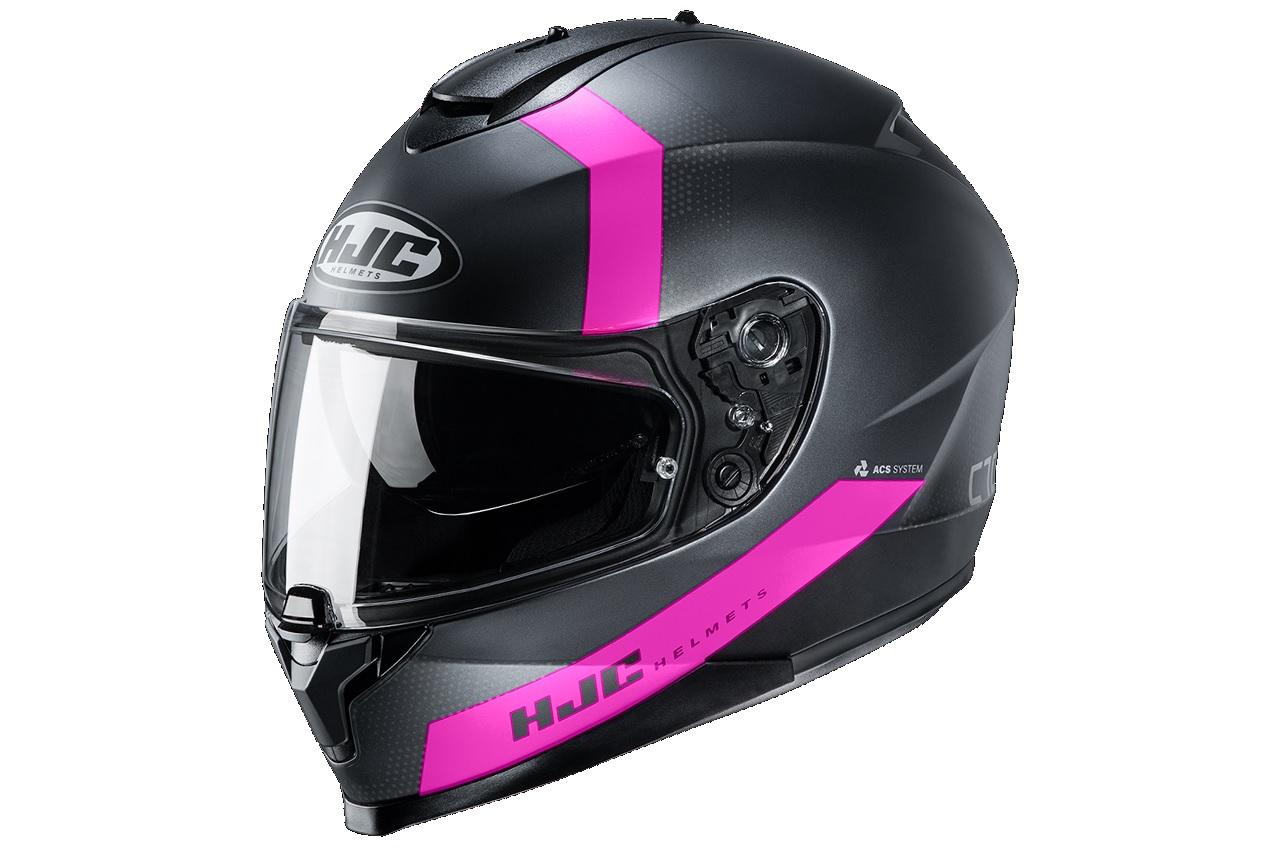 HJC C70 EURA MC-8SF Helmet