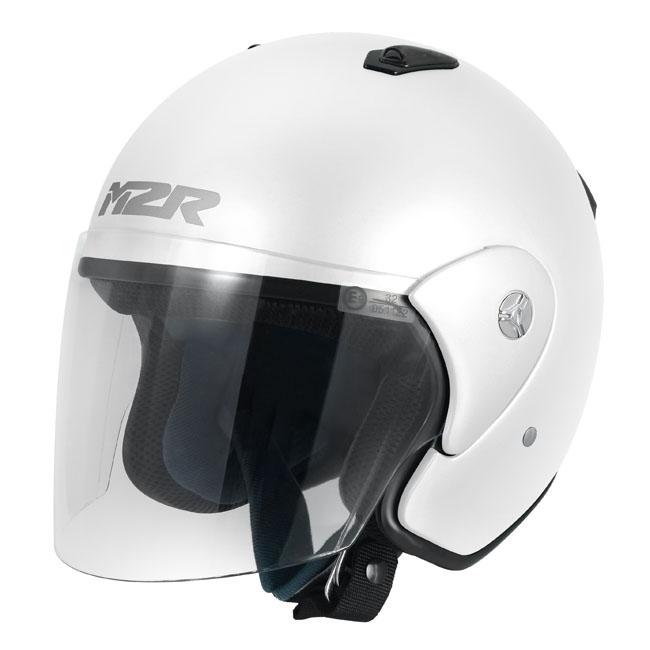 M2R 290 White Helmet