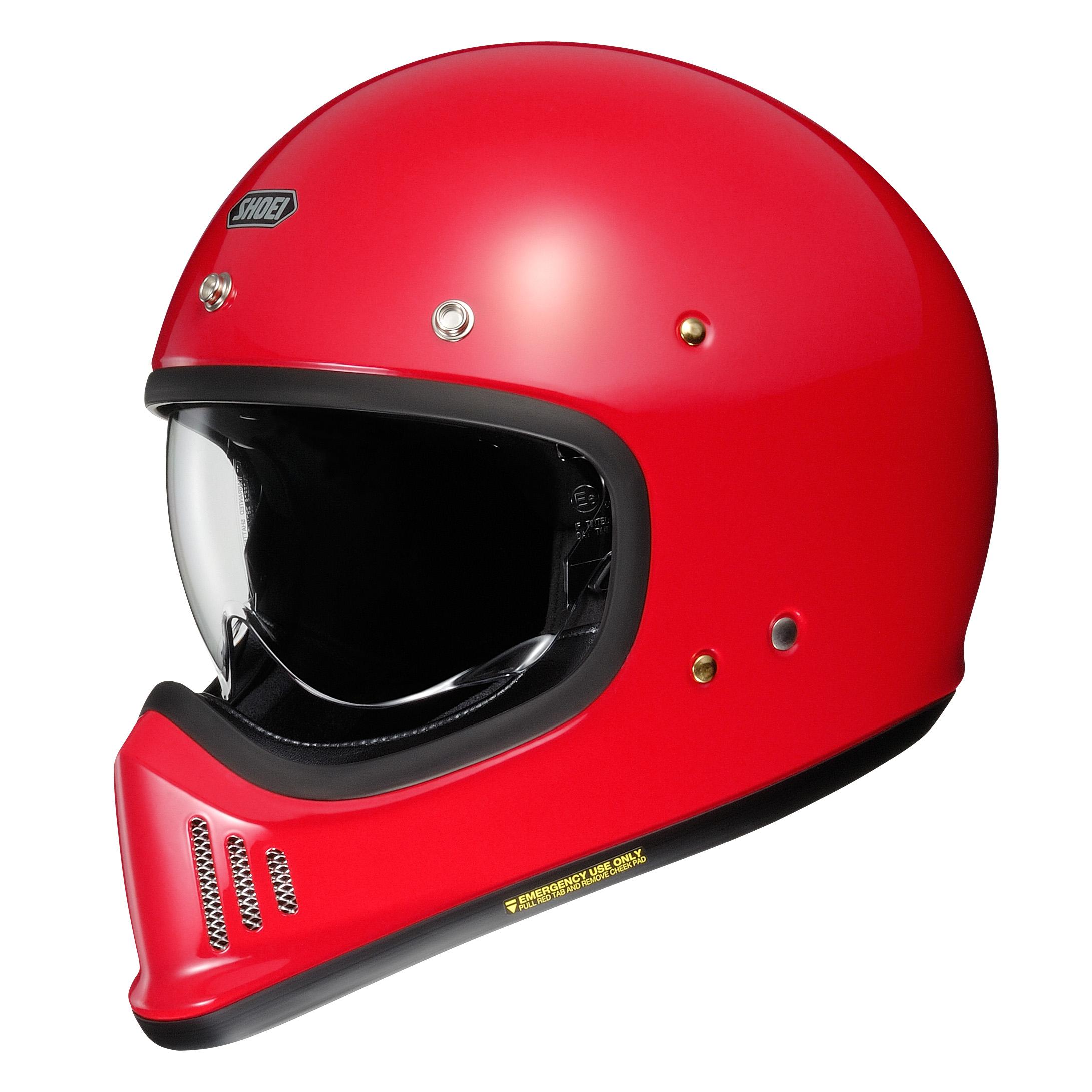 Shoei EX-Zero Shine Red Helmet