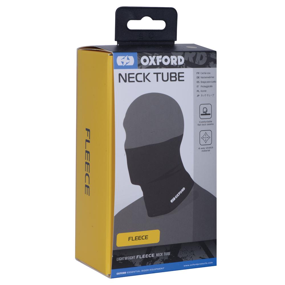 Oxford Black Fleece Neck Tube