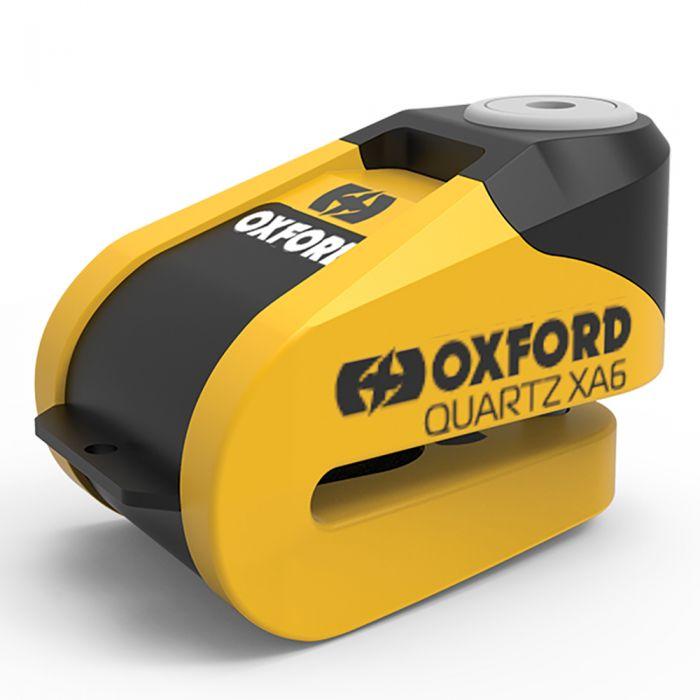 Oxford Quartz XA6 Yellow Disc Lock