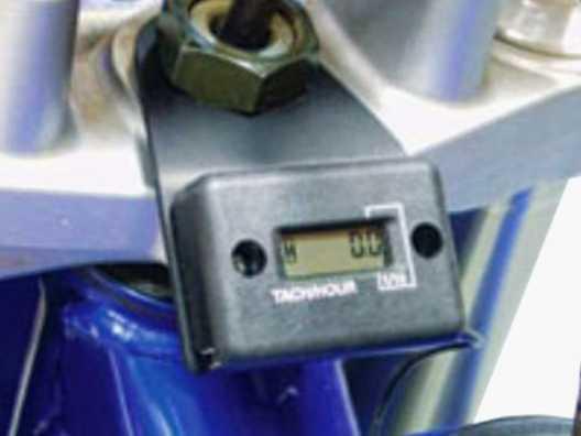 Yamaha YZ450F Hour Meter Mounting Bracket