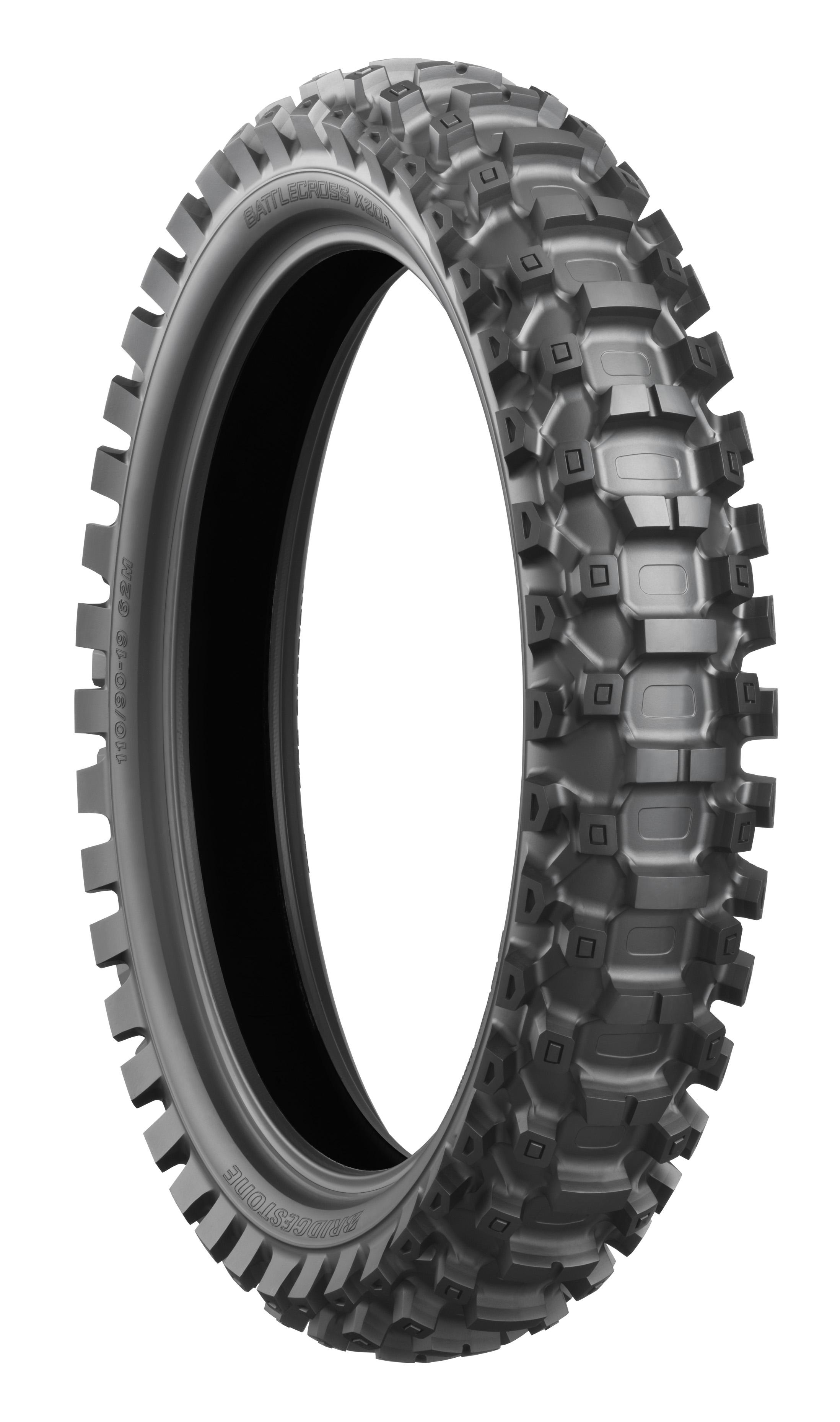 Bridgestone Battlecross X20 110/100-18 (64M) Soft Rear Tyre