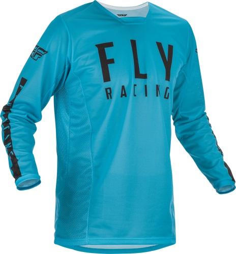 Fly Racing 2022 Kinetic Mesh Blue/Black Jersey