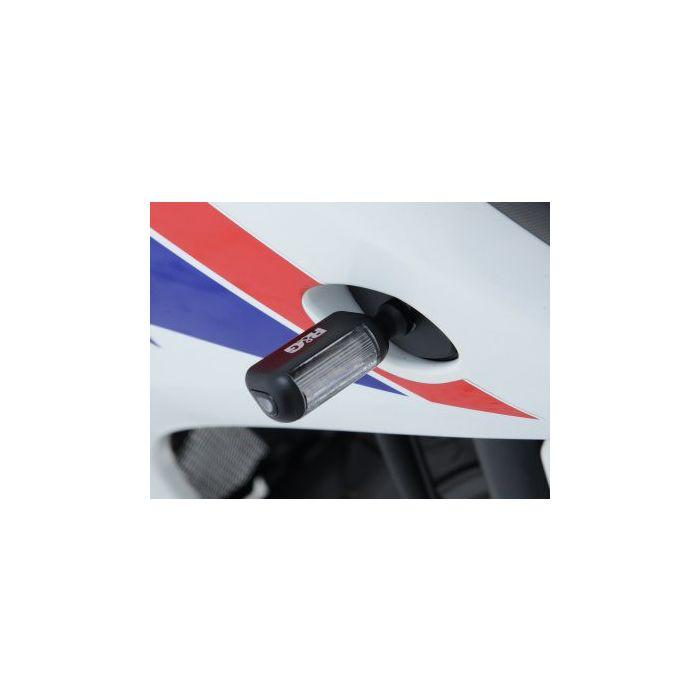 R&G Led Type Black Aero Style Micro Indicators