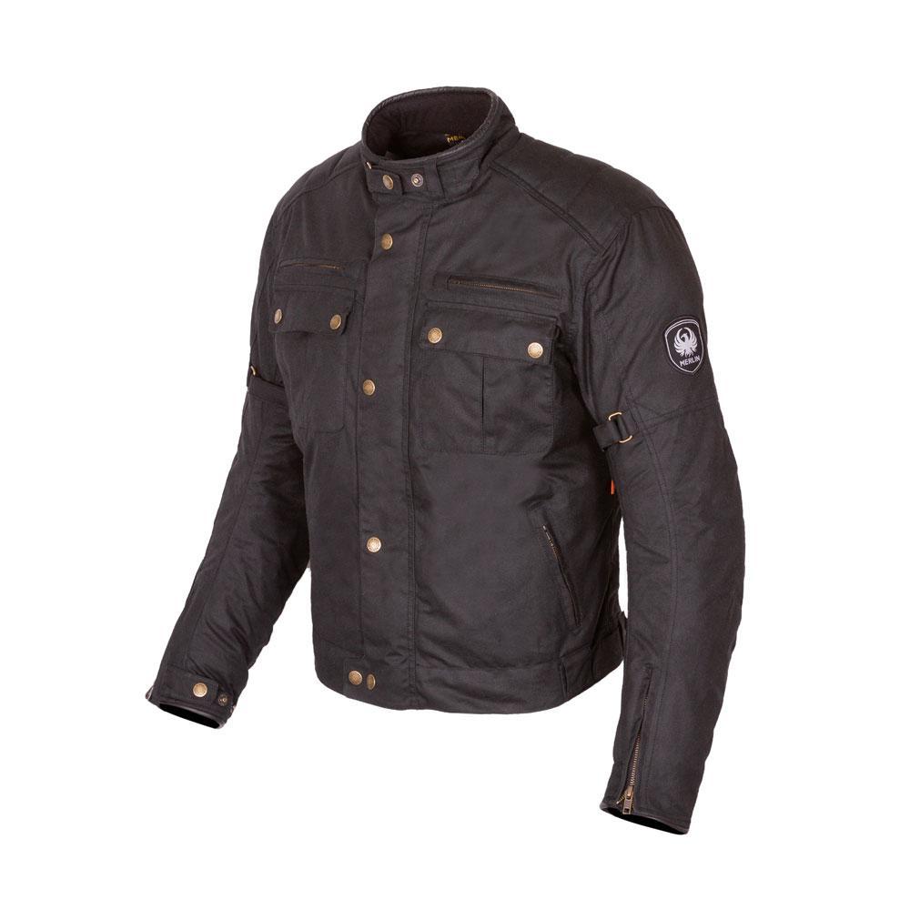 Merlin Barton II Black Jacket
