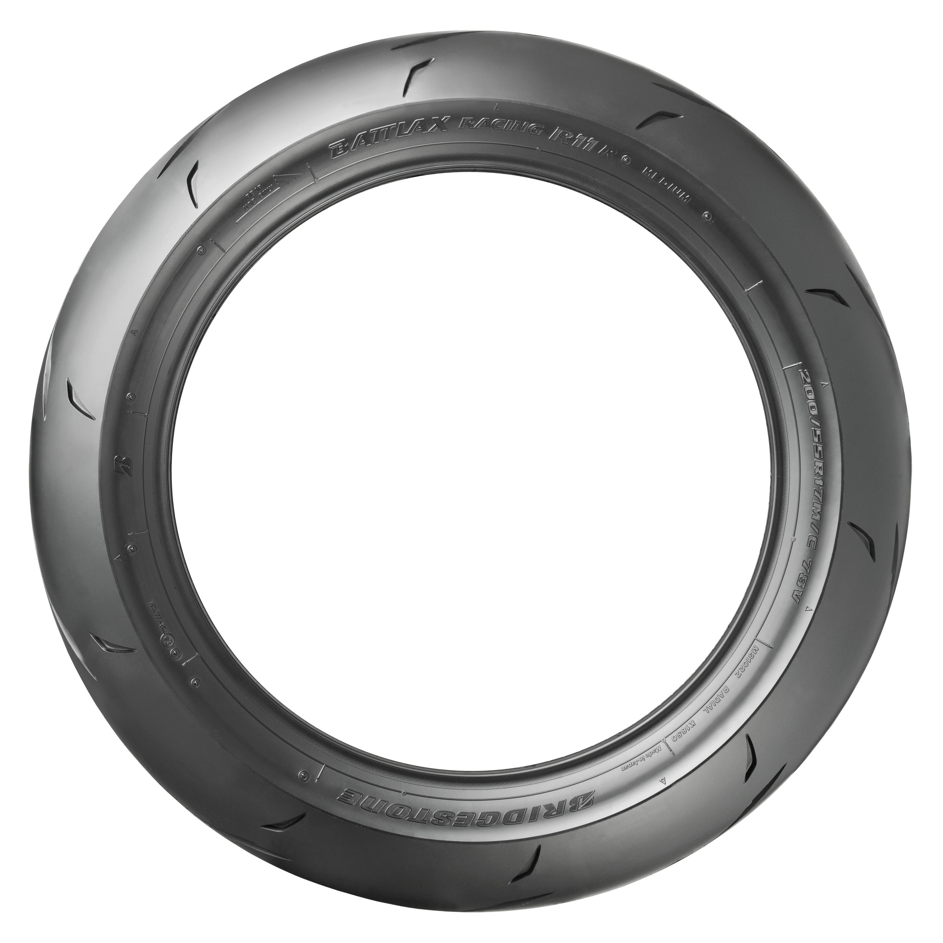 Bridgestone Battlax R11 200/55VR17 (78V) Race Soft Rear Tyre