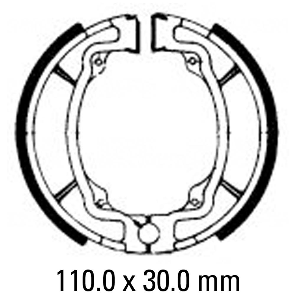 Ferodo FSB722 Brake Shoe Set
