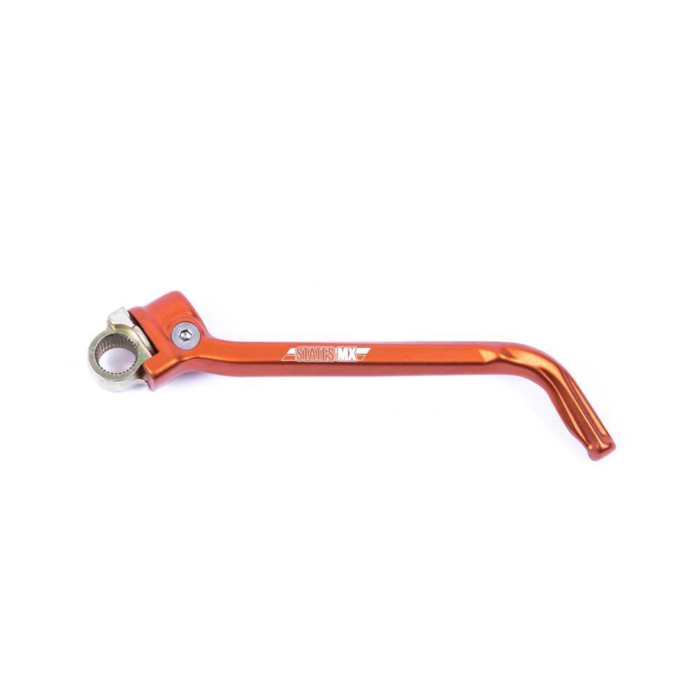 States MX KTM Orange Alloy Kickstart Lever