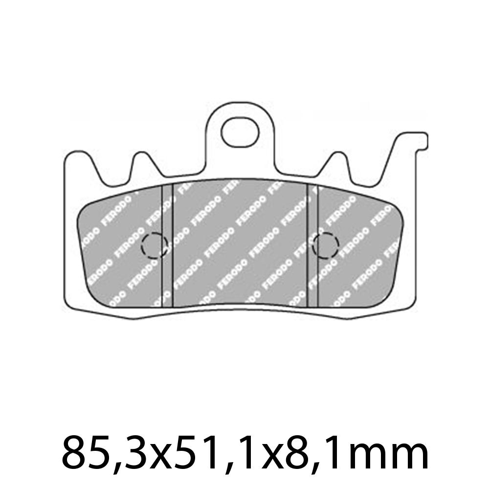 Ferodo FDB2265ST Brake Pads