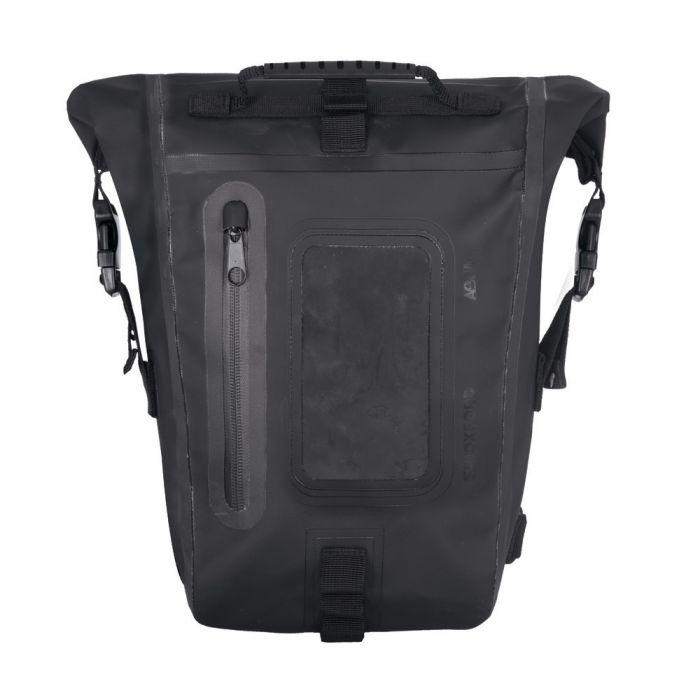 Oxford Aqua M8 Black Tank Bag