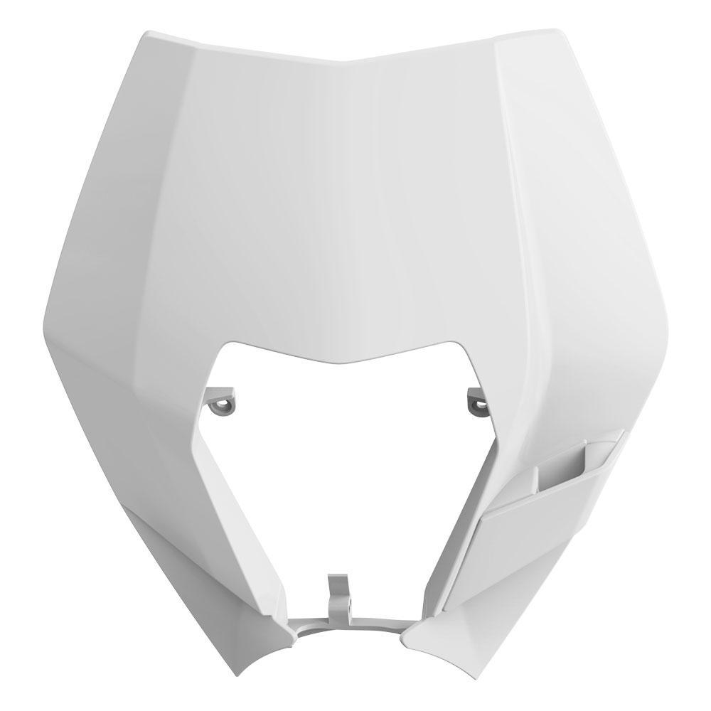 Polisport KTM EXC/EXCF (08-13) White Headlight Surround