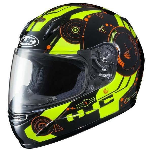 HJC CL-Y Simitic MC-4H Youth Helmet