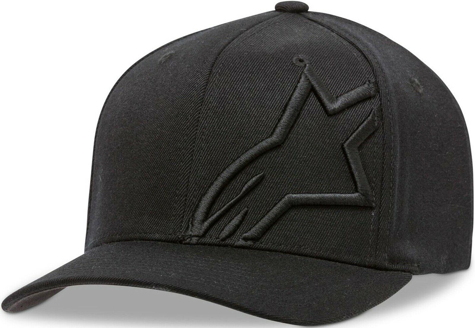 Alpinestars Corp Shift Flexfit Black Hat