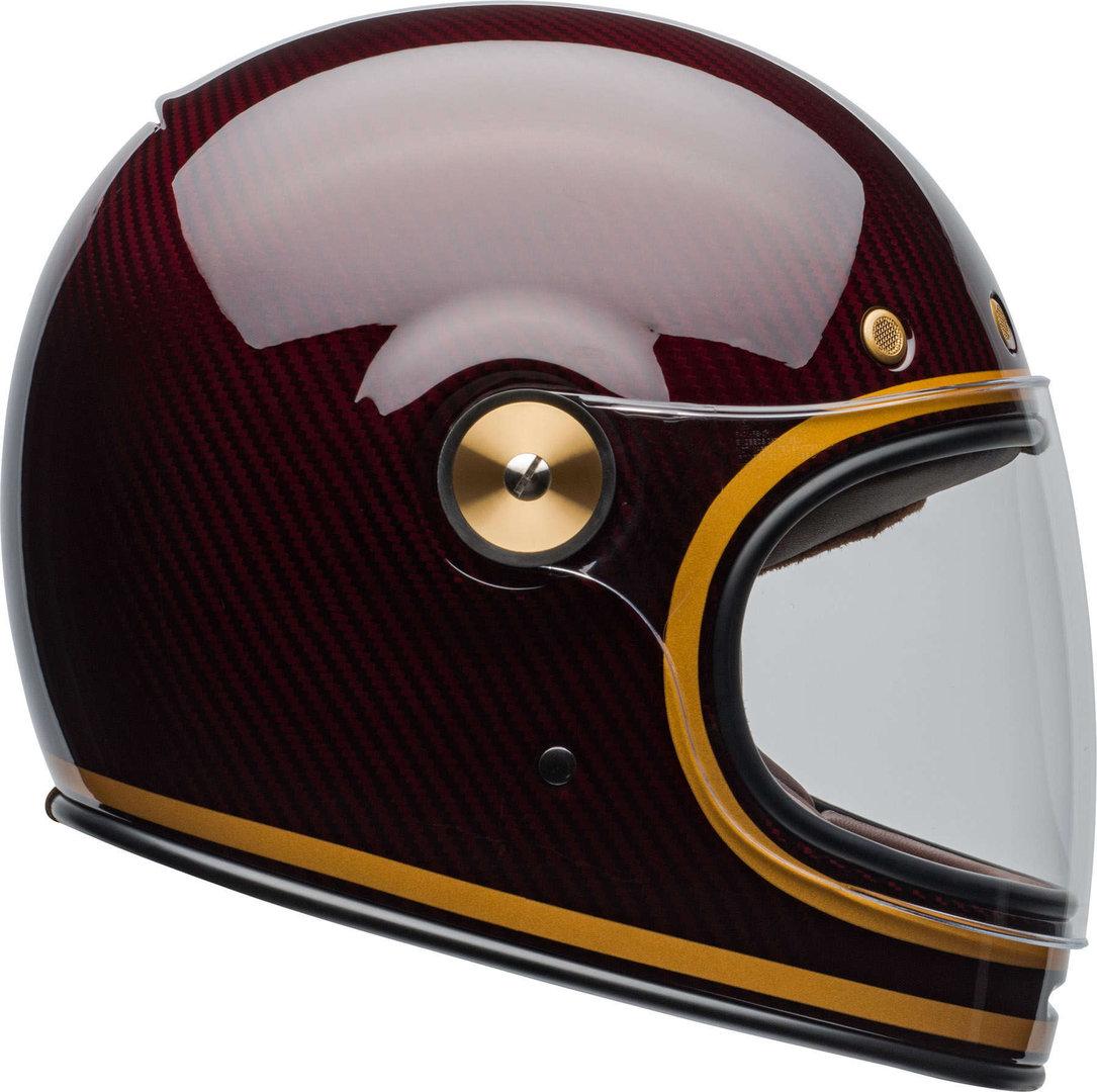Bell Bullitt Carbon Transcend Candy Red/Gold Helmet